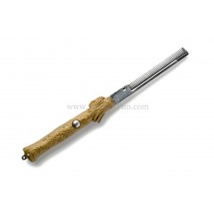 Dragon Switchblade Comb (Gold)